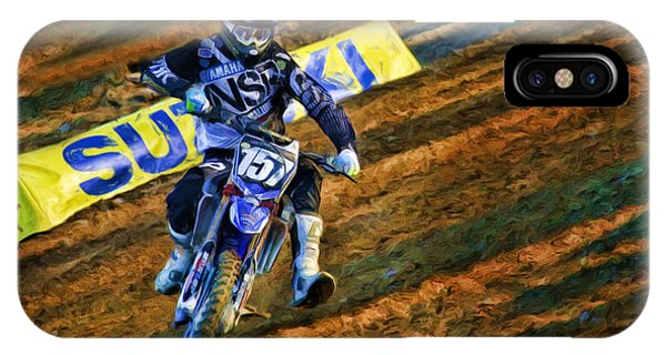 Ama 250sx Supercross Aaron Plessinger IPhone Case