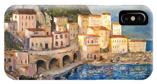 Amalfi Coast Highway IPhone Case