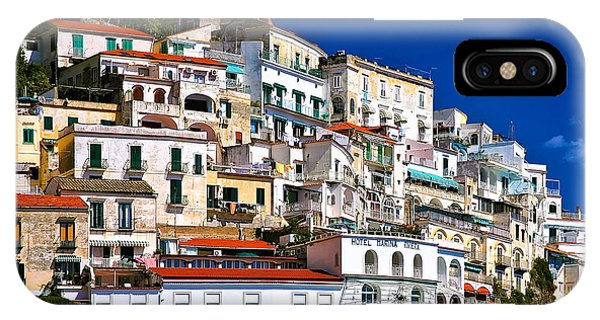 Amalfi Architecture IPhone Case