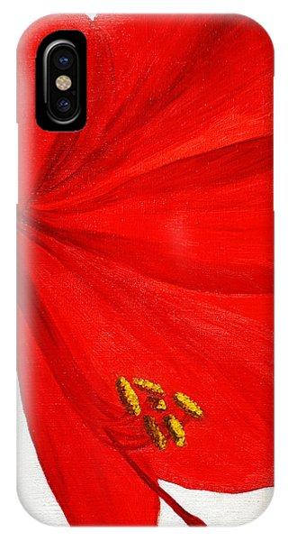 Amaryllis Flower IPhone Case