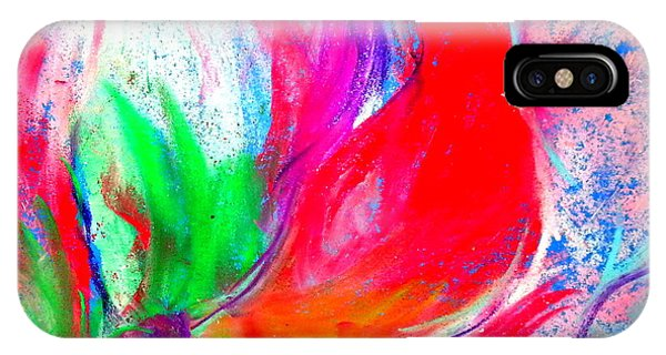Amaryllis iPhone Case - Funky Amaryllis Lily by Sue Jacobi