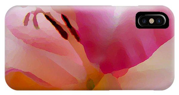 Gladiola Photo Painting IPhone Case