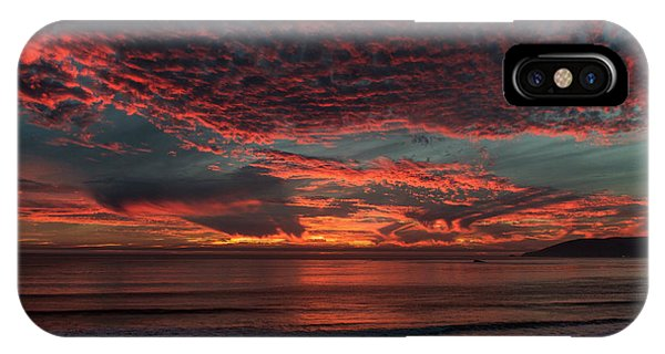 Amazing Blazing Sunset IPhone Case