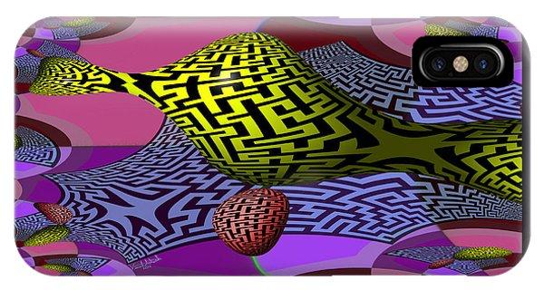 Mandelbrot Maze IPhone Case