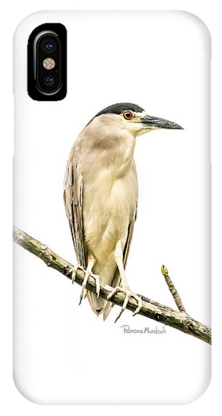 Amazonian Heron IPhone Case
