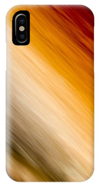 Amber Diagonal IPhone Case
