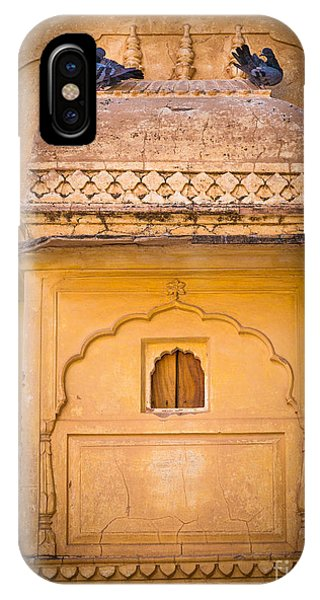 Amber iPhone Case - Amber Fort Birdhouse by Inge Johnsson