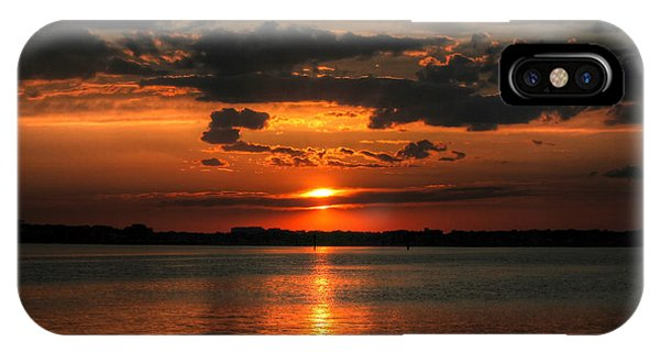 Amber Sunset IPhone Case