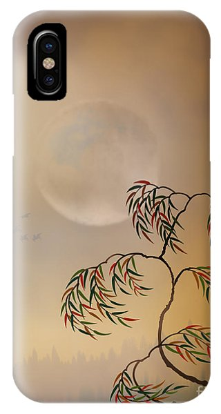 Shrub iPhone Case - Amber Vision by Peter Awax