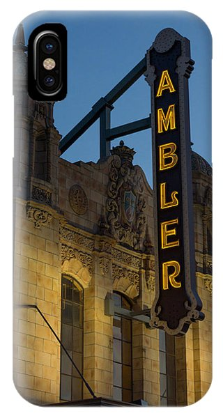 Ambler Theater Marquee IPhone Case