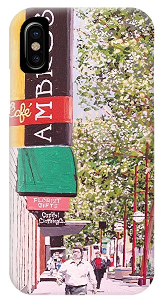 Ambrosia At Eleventh And K Phone Case by Paul Guyer