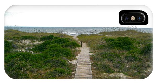 Amelia Island Beach IPhone Case