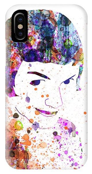 Romantic iPhone Case - Amelie Watercolor by Naxart Studio