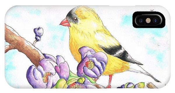America  Goldfinch IPhone Case