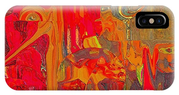 Sherri iPhone Case - American Abstract by Sherri's - Of Palm Springs