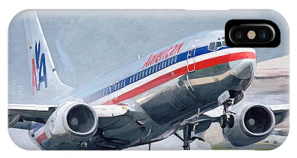 American Airlines Taking Off IPhone Case