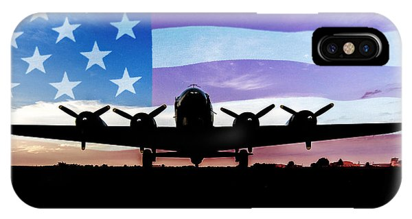 American B-17 Flying Fortress IPhone Case