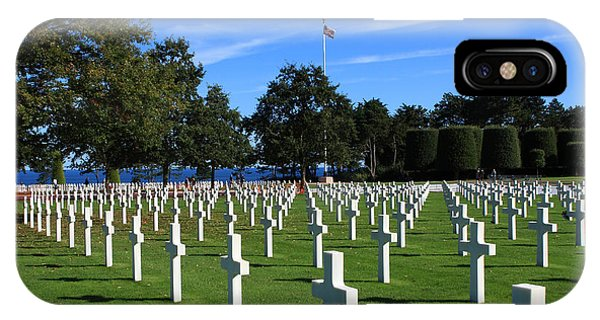 American Cemetery Normandy IPhone Case