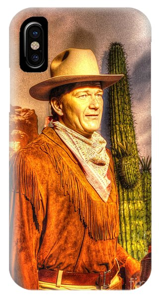 American Cinema Icons - The Duke IPhone Case