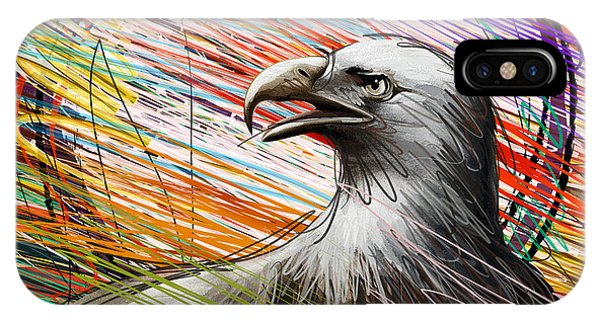 Condor iPhone Case - American Eagle by Peter Awax