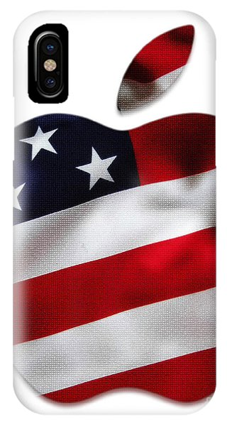 American Flag Apple IPhone Case