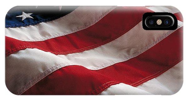 Stars And Stripes iPhone Case - American Flag by Jon Neidert