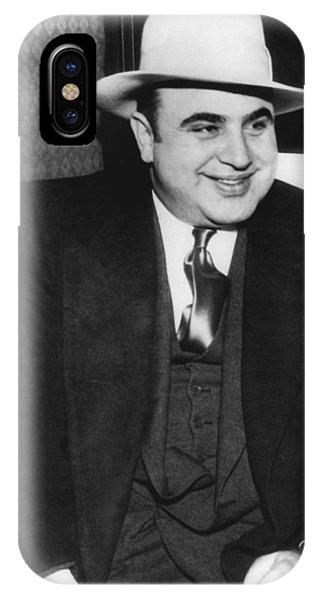 American Gangster Al Capone IPhone Case