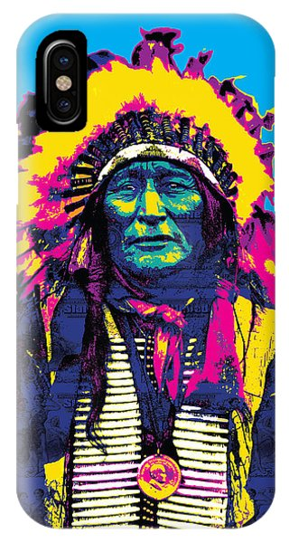American Indian Chief IPhone Case