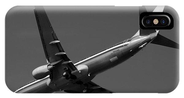 American Jet Landing IPhone Case