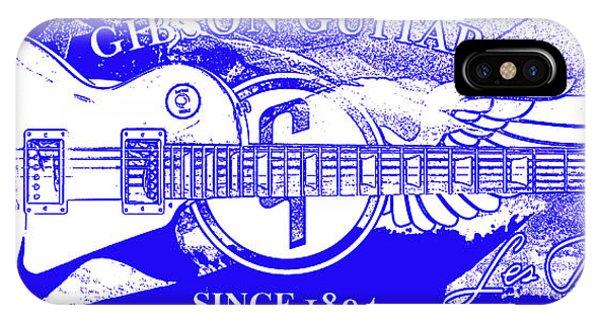 Guitar Legends iPhone Case - American Legend Blue by Jon Neidert