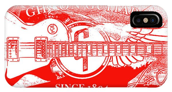 Guitar Legends iPhone Case - American Legend Red by Jon Neidert