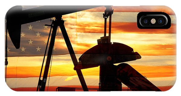 James iPhone Case - American Oil  by James BO Insogna