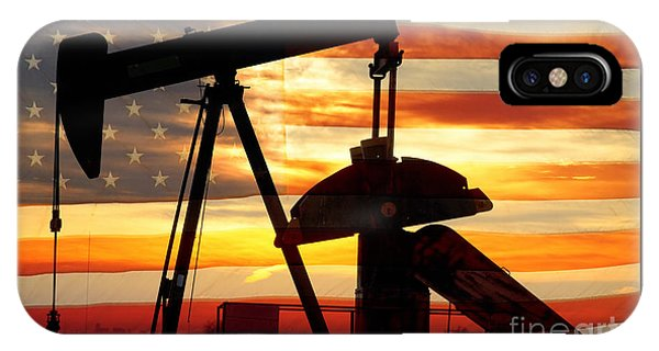 Oil iPhone Case - American Oil  by James BO Insogna