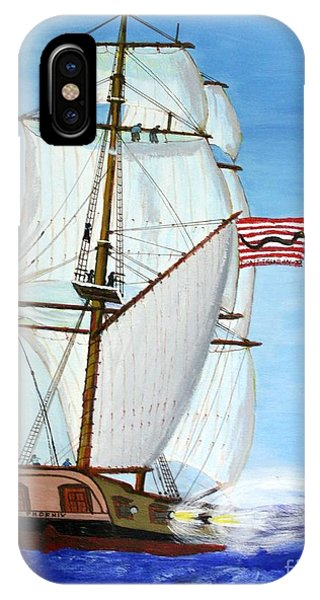 American Privateer Phoenix War Of 1812 IPhone Case