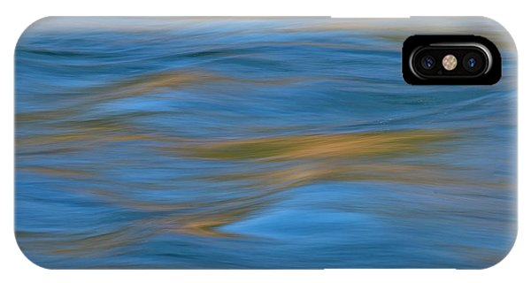 IPhone Case featuring the photograph American River Abstract by Sherri Meyer