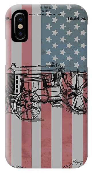 American Tractor IPhone Case