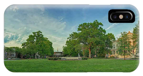 American University Quad IPhone Case