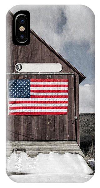 Americana Patriotic Barn IPhone Case
