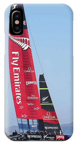 America's Cup Emirates Team New Zealand Phone Case by Steven Lapkin
