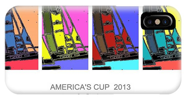 America's Cup Poster 3 IPhone Case