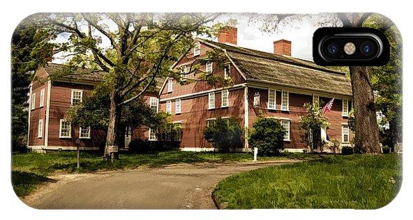 America's Oldest Inn Longfellow's Wayside Inn In Sudbury Massachusetts IPhone Case