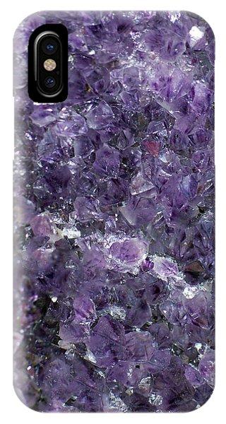 Amethyst Geode II IPhone Case