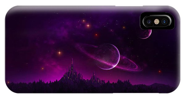 Amethyst Night IPhone Case
