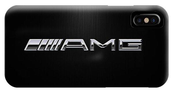 Logo iPhone Case - Amg Center Stage by Douglas Pittman