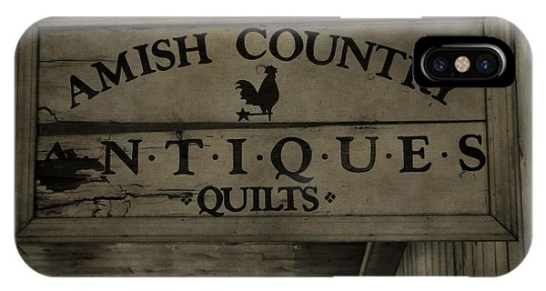 Amish Country iPhone Case - Amish Antique Quilts  by Dan Sproul