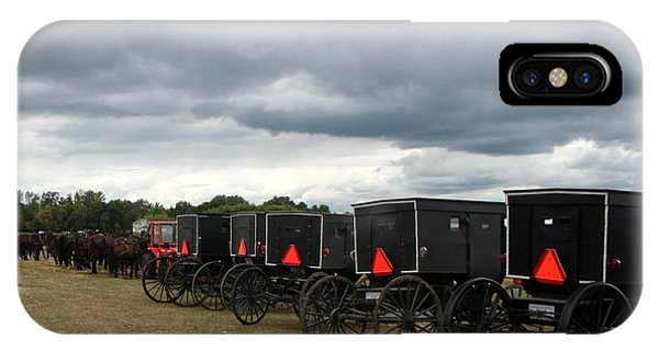 Amish Car Park IPhone Case