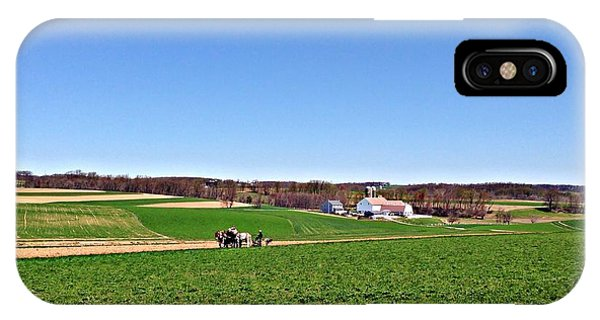Amish Farmer IPhone Case