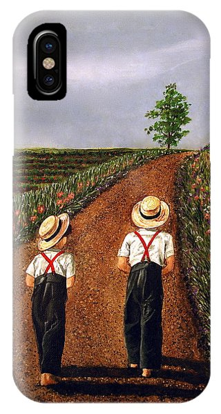 Amish Road IPhone Case