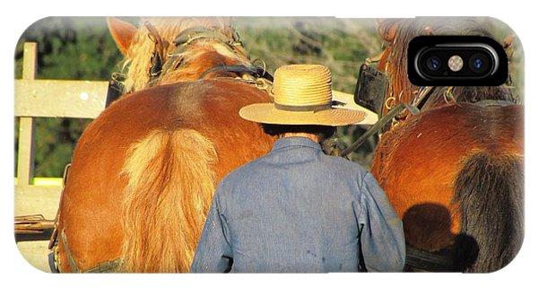 Amish Team IPhone Case