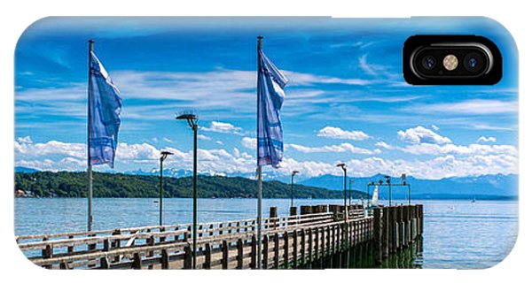 Ammersee - Lake In Bavaria IPhone Case